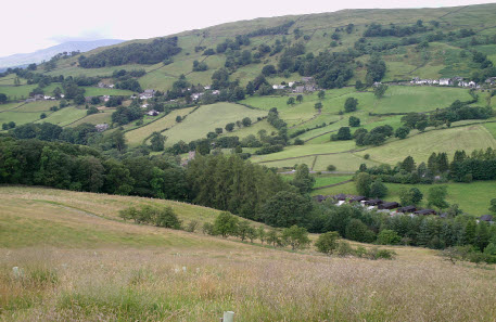 Lodges and the Troutbeck valley