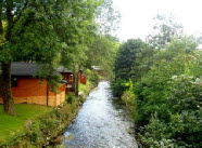 Lodges along the beck